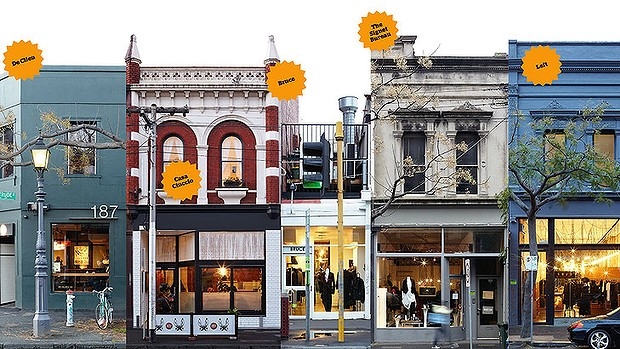 Picture of shops on Gertrude Street, Fitzroy