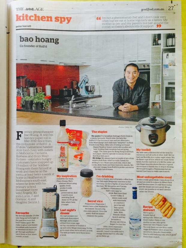 Kitchen Spy with Bao Hoang, Epicure