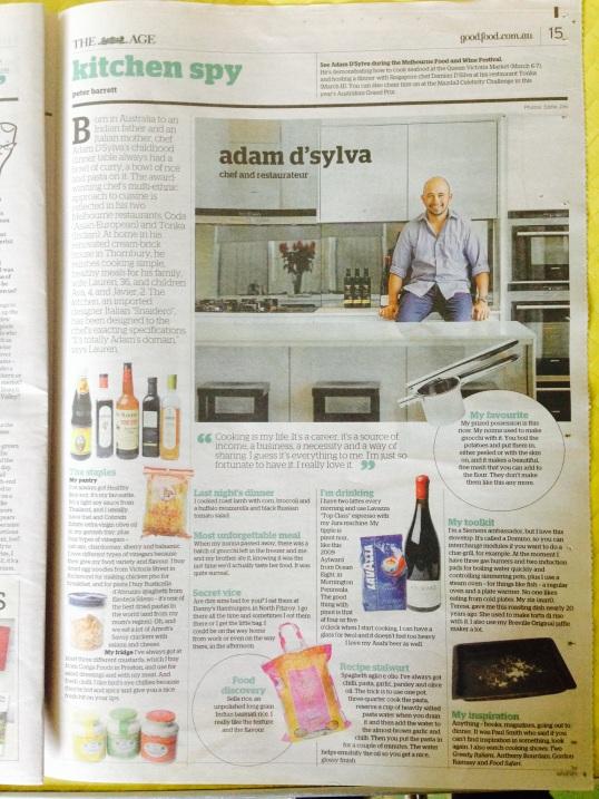 Kitchen Spy with Adam D'Sylva