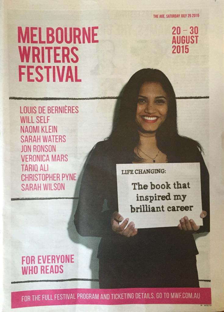 Melbourne Writers Festival insert