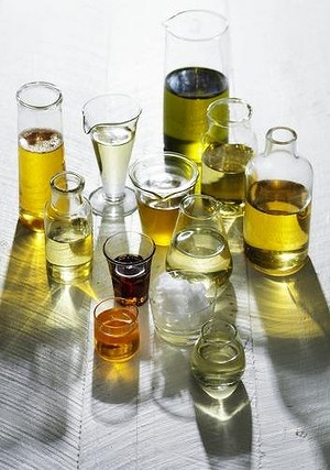 Assorted cooking oils