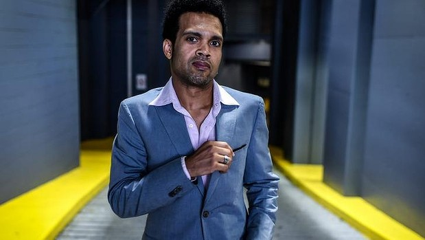 Charley Drayton, currently the drummer in Cold Chisel, and Australian singer Chrissy Amphlett's husband Photo: Brendan Esposito