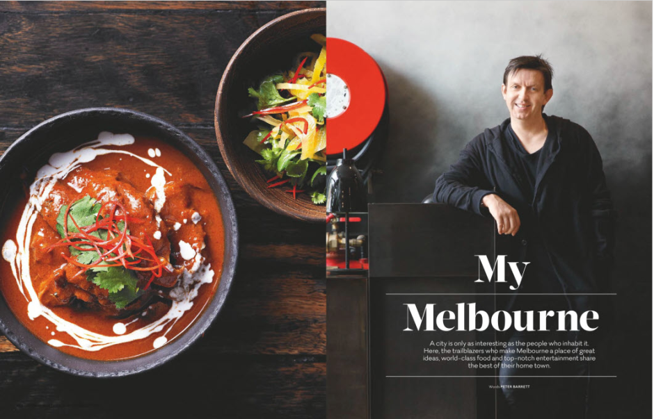 """My Melbourne"" story for Voyeur magazine"