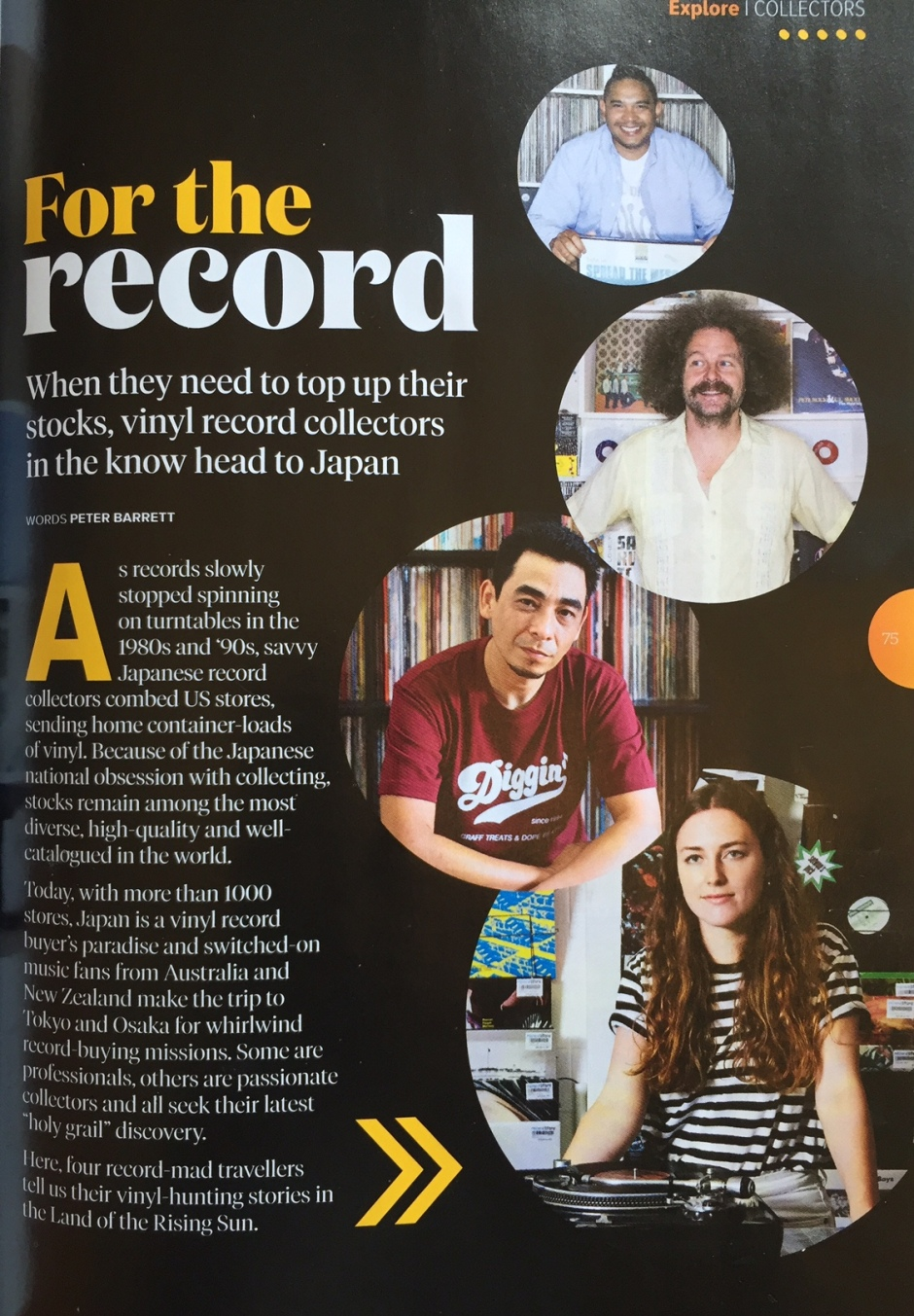 For the record 01